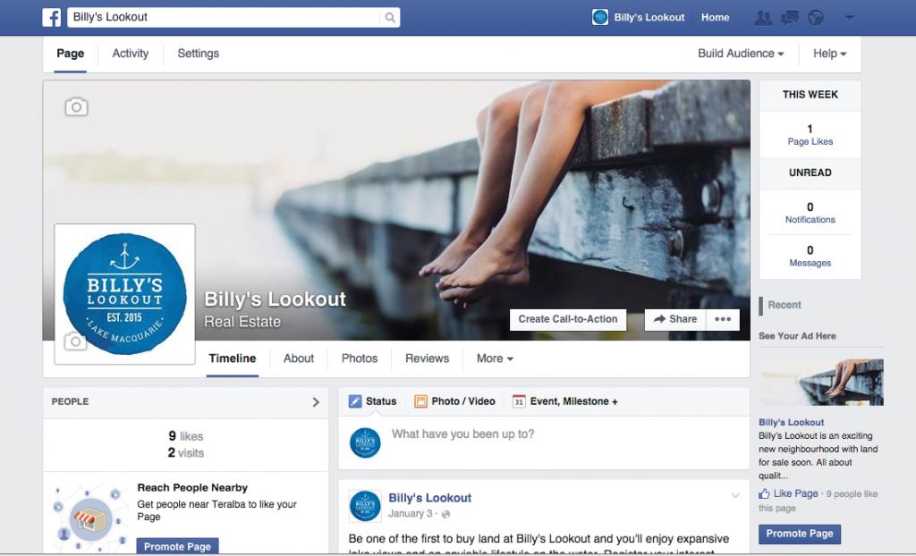 Billys Lookout | Facebook